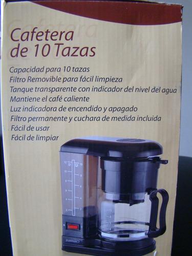 cafetera nueva original de la marca premium 10 tazas importa