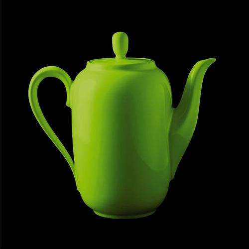 cafetera olmos® 1.000 cc. verde manzana línea aquarella