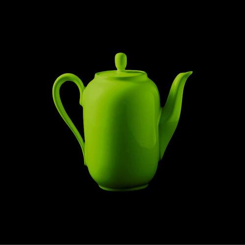 cafetera olmos® 500 cc. verde manzana línea aquarella
