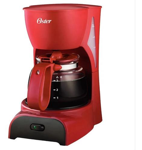 cafetera oster® bvstdcdr5r para 4 tazas - rojo