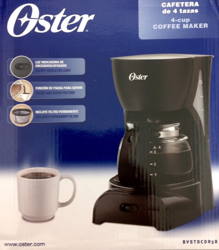 cafetera oster filtro