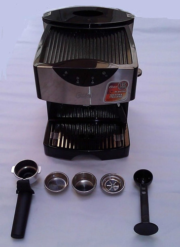 cafetera para cafe espreso y cappuccino oster