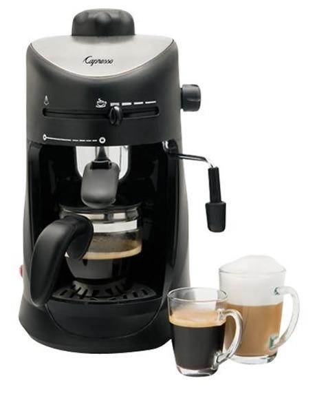 Cafetera para hacer capuchino espresso para 4 tazas for Tazas para espresso