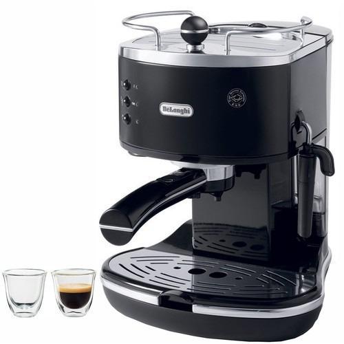 cafetera para hacer esspresos en negro modelo383