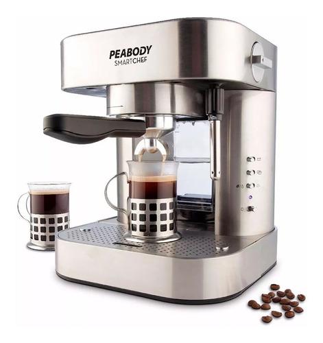 cafetera  peabody express y goteo 19 bar 1,5 litrospe-pe-ce19