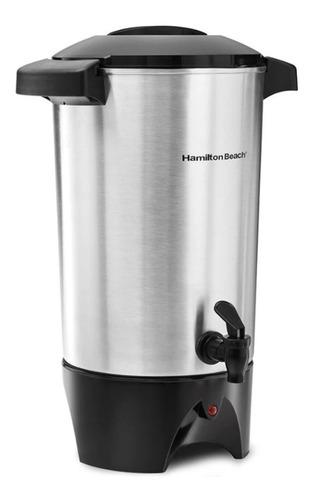 cafetera percoladora 45 tazas aluminio hamilton beach 40515