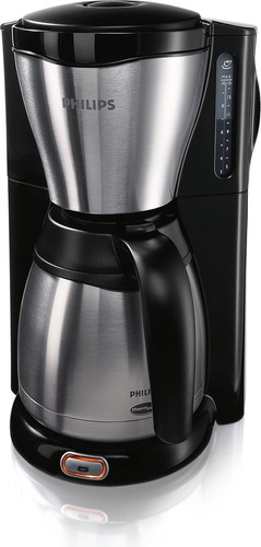 cafetera philips 1.2lts hd7546/20 negra acero inoxidable