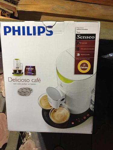 cafetera philips senseo twist