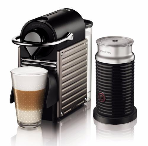 cafetera pixie titan combo nespresso café