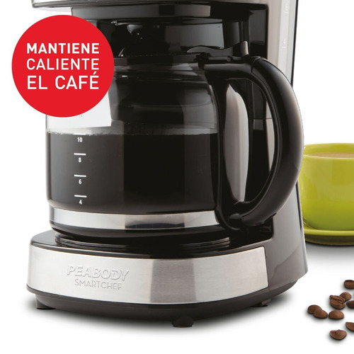 cafetera por goteo digital timer 1.8l peabody pe-ct4207 full
