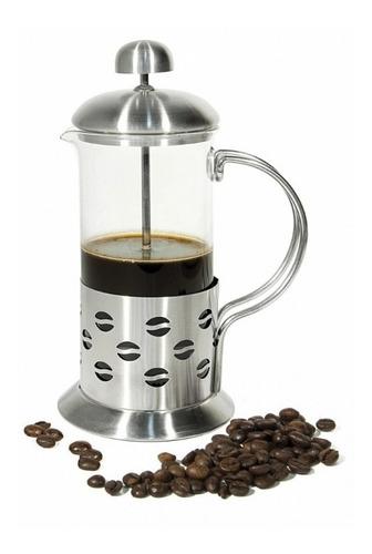 cafetera prensa francesa con émbolo acero inoxidable 600ml