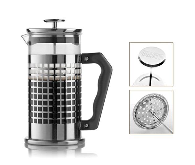 Cafetera prensa francesa de mbolo de piston acero for Bazar del cocinero