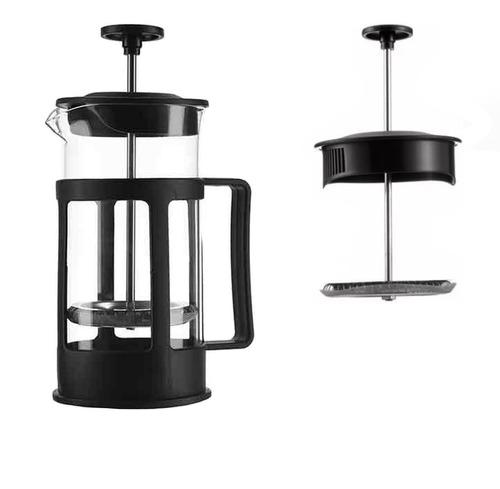 cafetera prensa francesa de vidrio p/ café p/ 2 tazas 350 ml