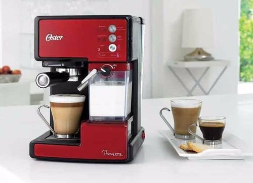 cafetera prima latte oster bvstem6601r