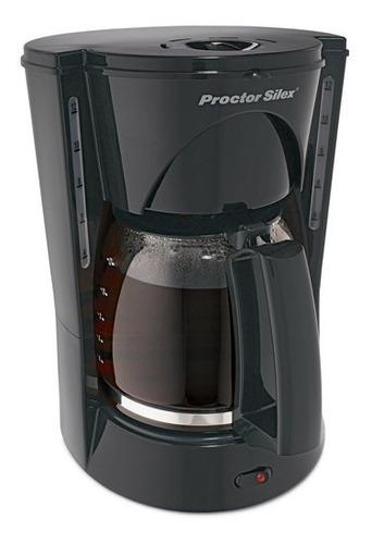 cafetera procter silex 12 tazas negro 48524