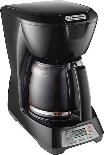 cafetera proctor silex 43672 12 tazas- color negro
