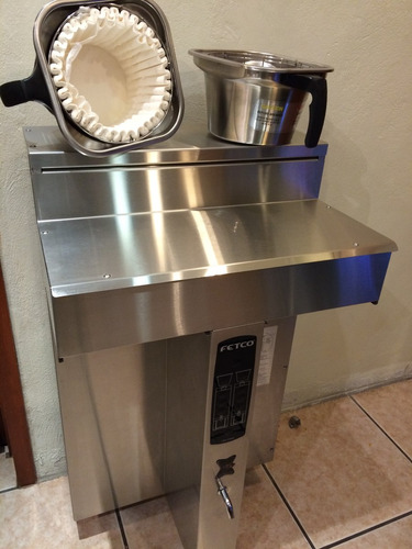 cafetera profesional fetco, 200 litros x hora nivel industri