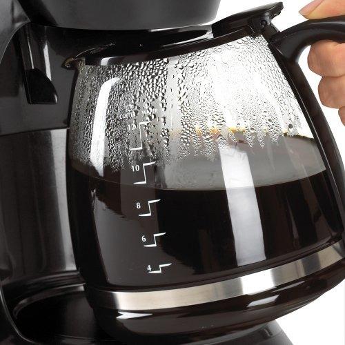 cafetera programable black y decker dcm100b 12cup con jarra