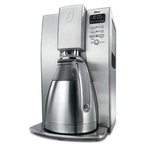 cafetera programable oster bvstdc4411-013 -plateado