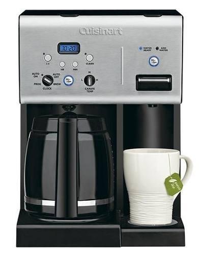 cafetera programable para 12 tazas - cuisinart - negro