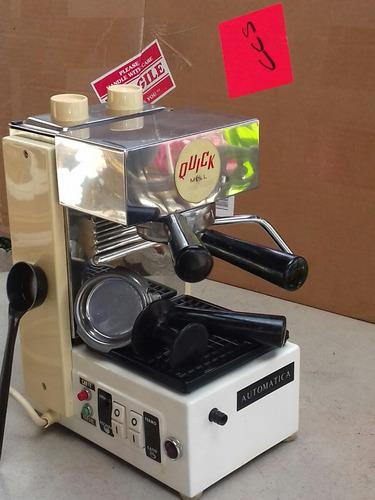 cafetera quick mill express:model:clásico