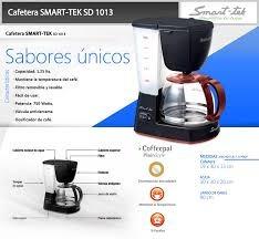 cafetera smart tek sd 1013  1.25 l filtros lavables