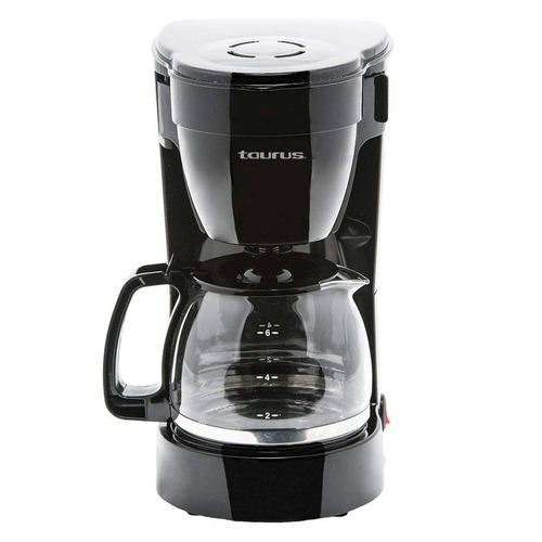 cafetera taurus coffeemax 6 negro