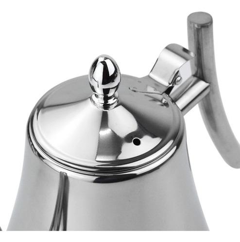 cafetera tetera dos modelos acero inoxidable gas inducción