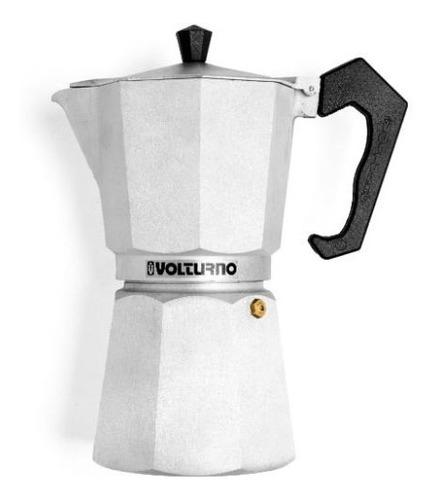 cafetera volturno moka aluminio 6 pocillos selectogar