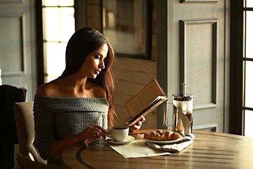 cafetera/prensa francesa cafe du chateau con 4 niveles de