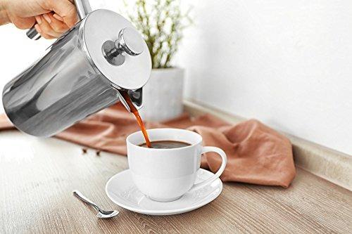 cafetera/prensa francesa skamroff premium doble pared de