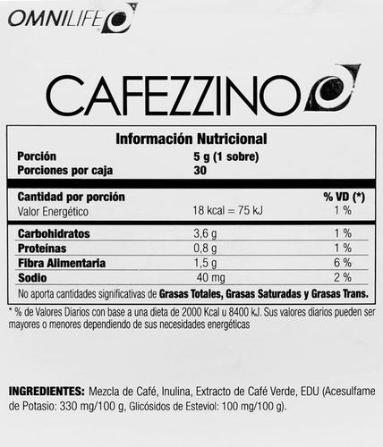 cafezzino plus omnilife (café adelgazante) garantía/rnd