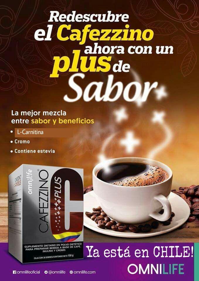 Cafezzino Plus Omnilife Cafe Quemador De Grasa Pierde Peso