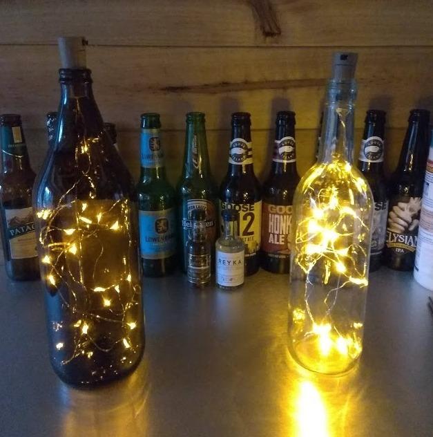 Led Caguama Botella Lampara Mega Cerveza Corona Victoria Bar Ybfy76gv