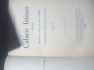 cahiers intimes inédits de marie bashkirtseff  tomos 2 y 3