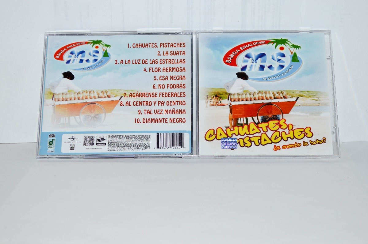 cd banda ms-cahuates pistaches