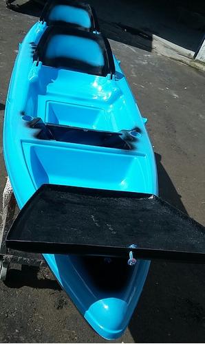 caiaque brs 2 lugares de pesca (2 cores)