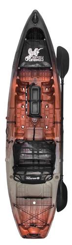 caiaque combat fishing - lançamento brudden nautica