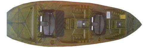 caiaque duplo new foca standard c remo + cadeirinha + brinde
