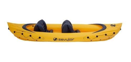 caiaque duplo sevylor tahiti 2 pessoas suporta até 163 kg