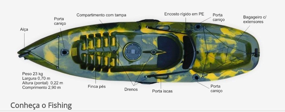 3c4471369 caiaque fishing caiaker. Carregando zoom.