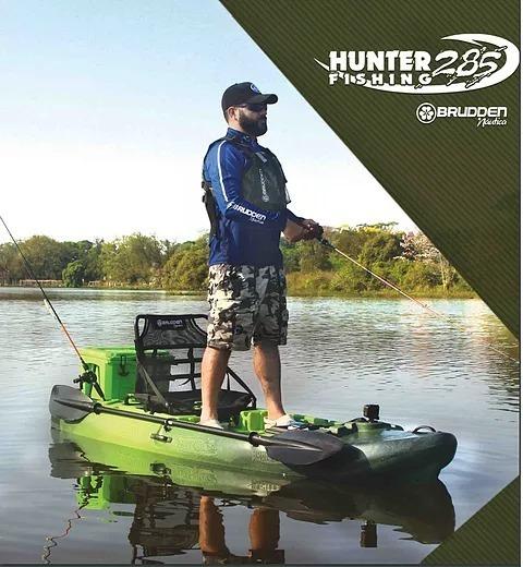 33352d034 Caiaque Hunter Fishing 285 Combo - Brudden Nautica - R  3.300