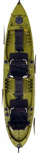 caiaque new foca duplo pesca lançamento caiaker