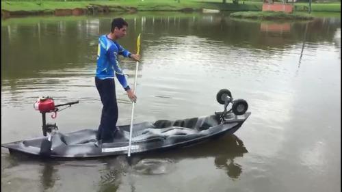 caiaque triplo de pesca de 2 a 3 lugares nasacaiaques.