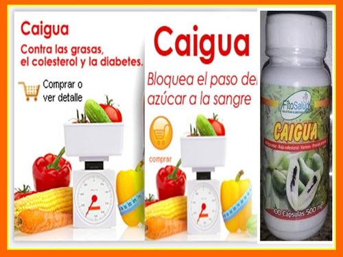 caigua para adelgazar 3 frascos 300 caps 500 mg /sol-ofertas