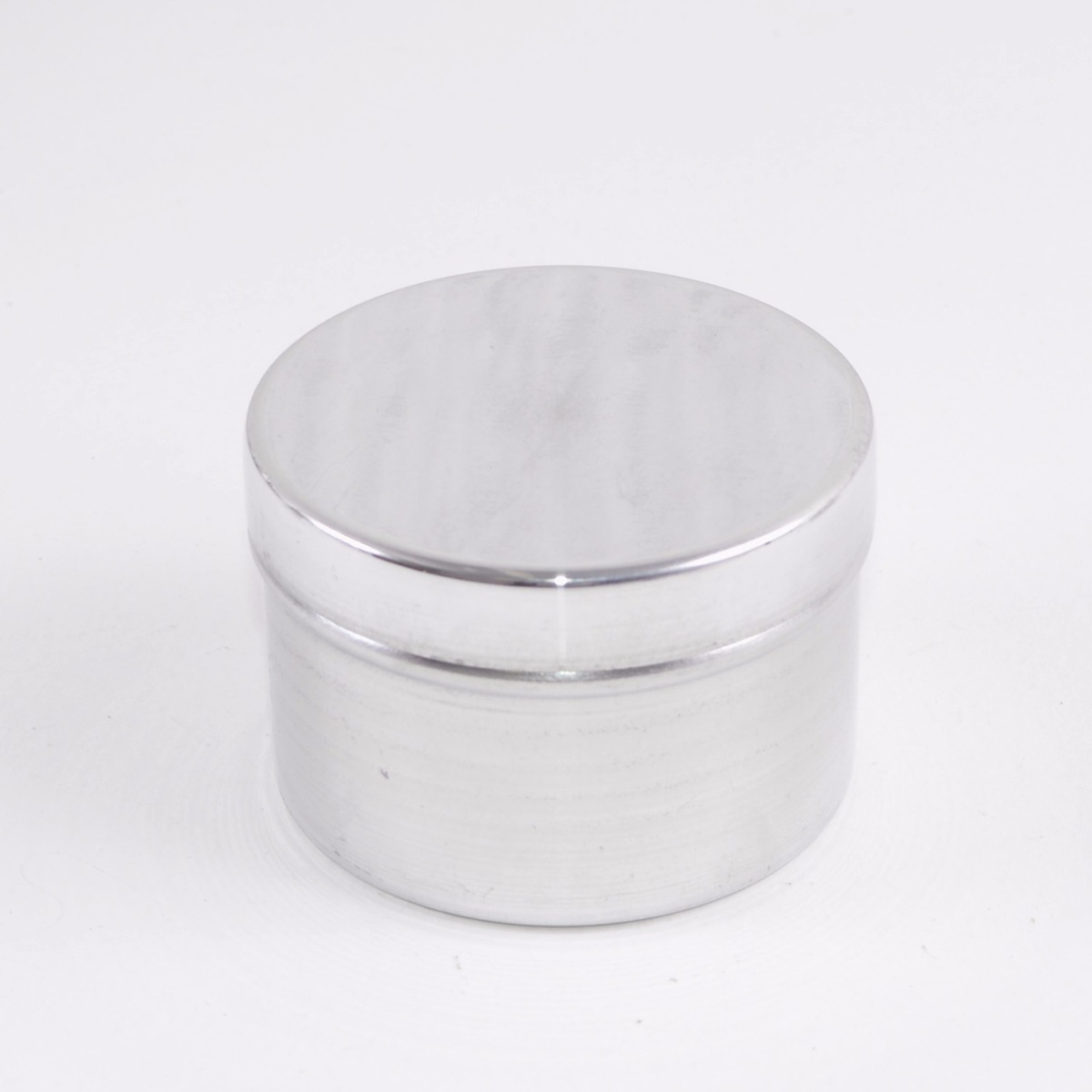 Caixa 12 Unidades Lata Estojotampa Alumínio Prata Lembrança R 78