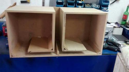 caixa 2 subs de 15 polegadas