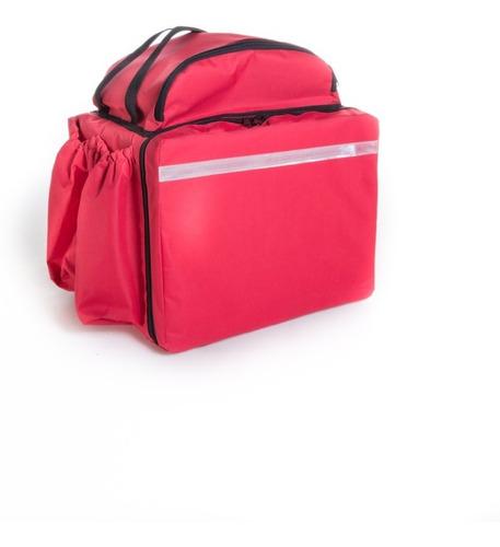 caixa 20 capas de bags mochila para delivery 44 lts. revenda