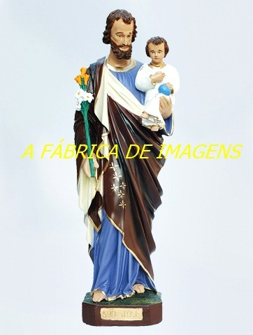 caixa 4 imagem são josé menino jesus estatua 40cm cada gesso