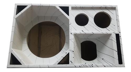 caixa 4vias canhão euclides falante de 15 pol medio de 8 pol